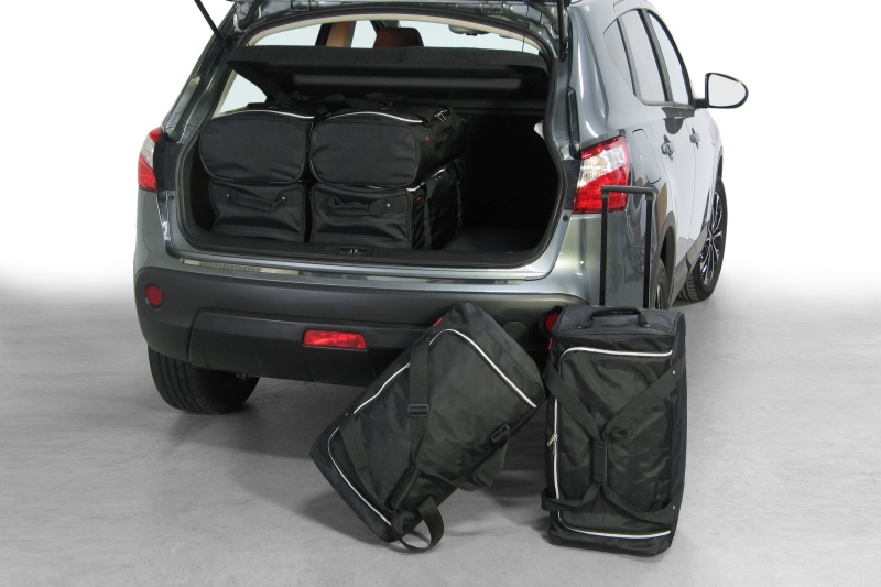 nissan qashqai j10 2007 2013 bolsas para maletero. Black Bedroom Furniture Sets. Home Design Ideas